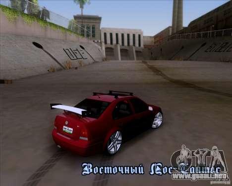 Volkswagen Jetta 2005 para la vista superior GTA San Andreas