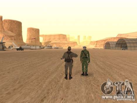 Piel de un soldado soviético para GTA San Andreas quinta pantalla