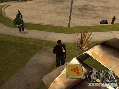 CJ hambre v. 3 final para GTA San Andreas segunda pantalla