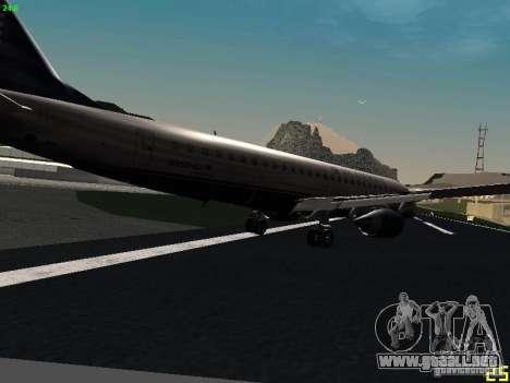 Embraer ERJ 190 USAirways para la visión correcta GTA San Andreas