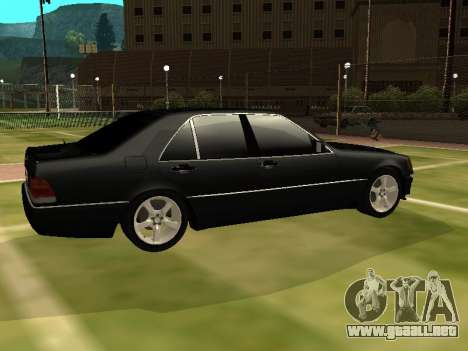 Mercedes-Benz S400 SE W140 para GTA San Andreas left
