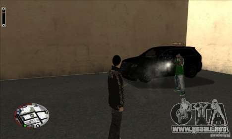 GodPlayer v1.0 for SAMP para GTA San Andreas segunda pantalla