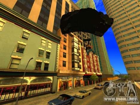 Global Parachute Mod para GTA San Andreas sucesivamente de pantalla