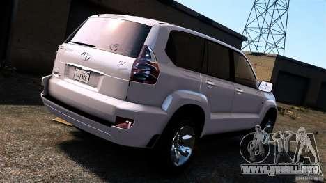Toyota Land Cruiser Prado para GTA 4 visión correcta