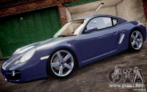 Porsche Cayman S 2006 EPM para GTA 4 left
