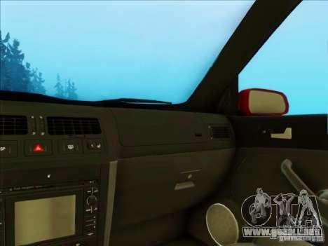 Volkswagen Bora HellaFlush para la visión correcta GTA San Andreas