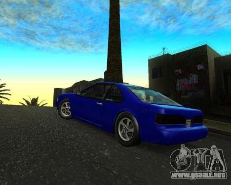 Khord ThunderWing para GTA San Andreas left