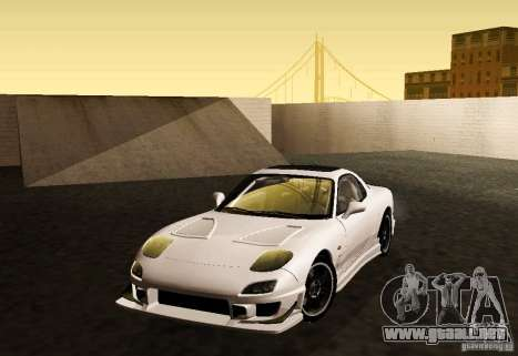 Mazda RX-7 C-West para GTA San Andreas