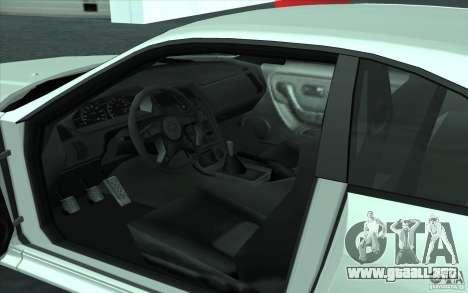 Nissan Skyline GT-R R-33 para la visión correcta GTA San Andreas
