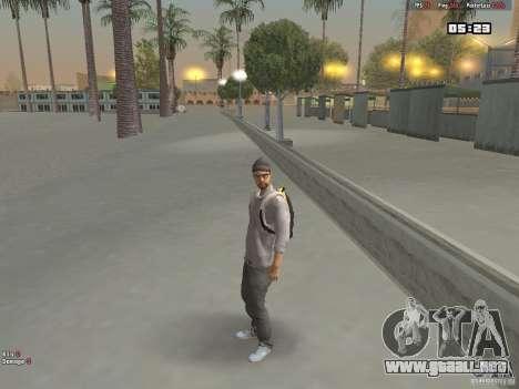 Skin Hipster v1.0 para GTA San Andreas segunda pantalla