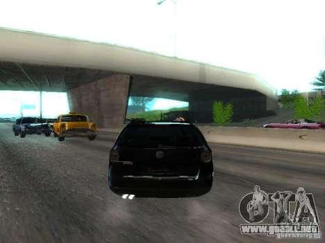 Volkswagen Passat B6 Variant Com Bentley 20 Fixa para la visión correcta GTA San Andreas