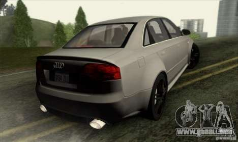 Audi RS4 para GTA San Andreas left