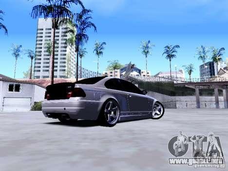 BMW 318i E46 Drift Style para la visión correcta GTA San Andreas