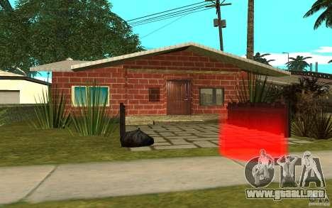 Nuevas texturas casa Denis para GTA San Andreas sucesivamente de pantalla