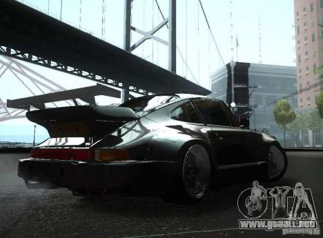 Porsche 911 Turbo RWB para la visión correcta GTA San Andreas