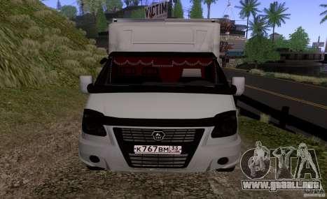 GAZ 3302 negocios para GTA San Andreas left