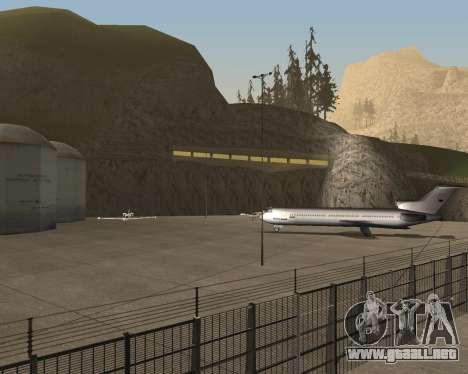Real New San Francisco v1 para GTA San Andreas sucesivamente de pantalla