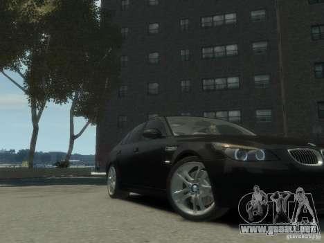 BMW M5 E60 para GTA 4 visión correcta