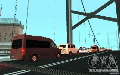 La caravana presidencial v. 1.2 para GTA San Andreas tercera pantalla