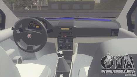 Fiat Albea Sole para la visión correcta GTA San Andreas