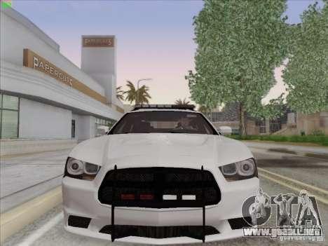 Dodge Charger 2012 Police para GTA San Andreas left