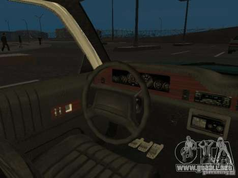 HD Police from GTA 3 para vista lateral GTA San Andreas
