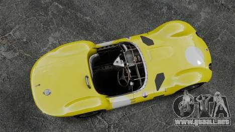 Maserati Tipo 60 Birdcage para GTA 4 visión correcta