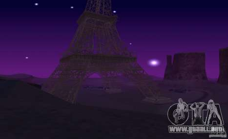 La Torre Eiffel de Call of Duty Modern Warfare 3 para GTA San Andreas sexta pantalla