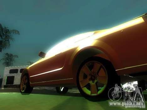 Ford Mustang GT para vista lateral GTA San Andreas