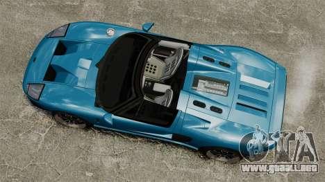 Ford GTX1 2006 para GTA 4 visión correcta