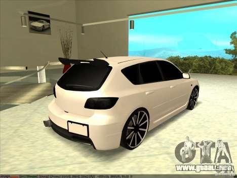 Mazda Speed 3 Stance v.2 para GTA San Andreas left