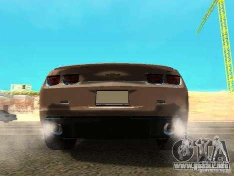 Chevrolet Camaro SS 2010 para la visión correcta GTA San Andreas