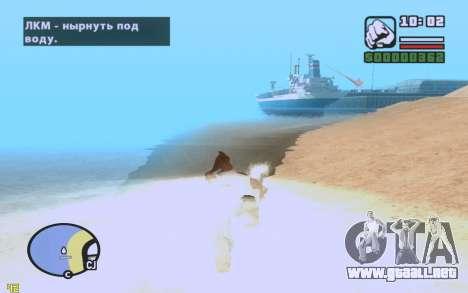 ENBSeries By VadimSpiridonov v.0.2 para GTA San Andreas quinta pantalla