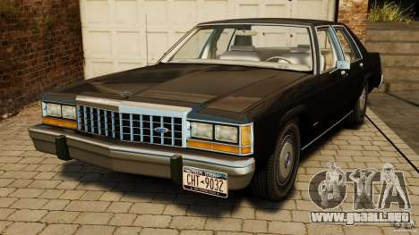 Ford LTD Crown Victoria 1987 para GTA 4