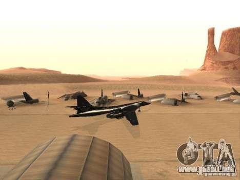 Tu 160 Black Jack para GTA San Andreas left