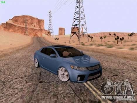 Kia Cerato Coupe 2011 para GTA San Andreas