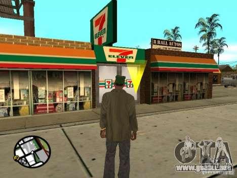 Nuevos restaurantes de texturas para GTA San Andreas sucesivamente de pantalla