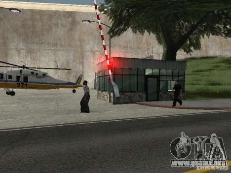 Bus Parque versión v1.2 para GTA San Andreas segunda pantalla