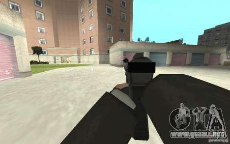 Nueva animación de GTA IV para GTA San Andreas séptima pantalla