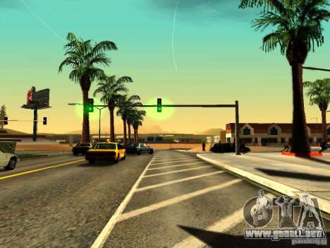 ENBSeries v1.2 para GTA San Andreas segunda pantalla