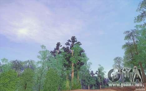 Sky Box V1.0 para GTA San Andreas sucesivamente de pantalla