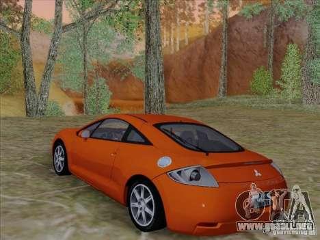 Mitsubishi Eclipse GT V6 para la vista superior GTA San Andreas