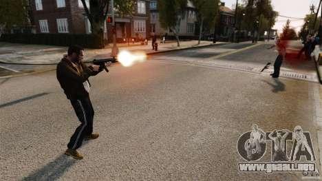 El daño real de armas para GTA 4 quinta pantalla