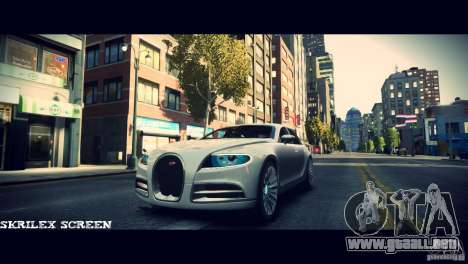 Bugatti Galibier 16C (Bug fix) para GTA 4 vista lateral