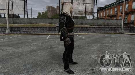 Geralt de Rivia v8 para GTA 4 segundos de pantalla