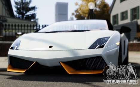 Lamborghini Gallardo LP570-4 Spyder para GTA 4 visión correcta