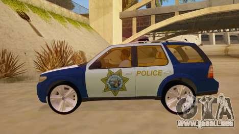 Saab 9-7X Police para GTA San Andreas