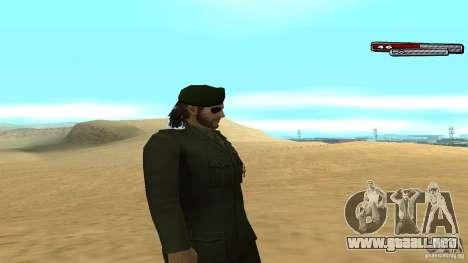 General para GTA San Andreas tercera pantalla