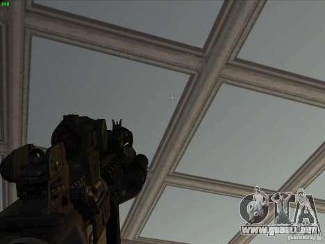MK-18 US Navy Style para GTA San Andreas sucesivamente de pantalla