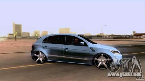 Volkswagen Golf G5 para GTA San Andreas vista posterior izquierda